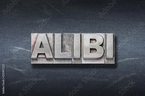 Photo alibi word den