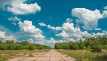 Abandoned Runway Landscape