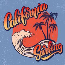 California Surf Rider. Poster ...