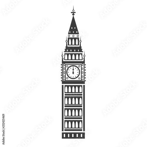 Photo Big Ben vector icon
