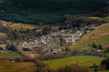 View Of The Village Of Killin ...