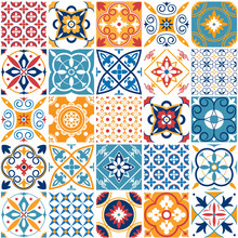 Portugal Seamless Pattern. Vin...