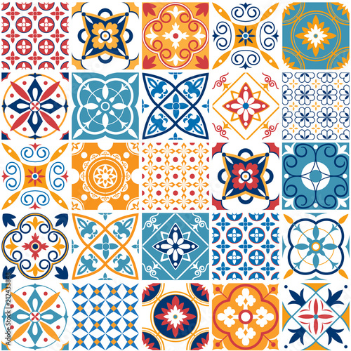 Fotografía  Portugal seamless pattern