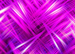 canvas print picture - Pink light trails background