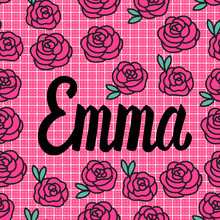 Emma Name Card With Lovely Pin...