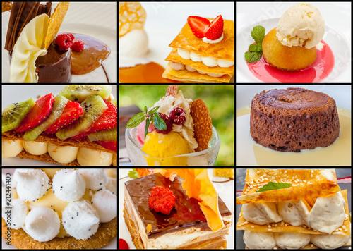 Papiers peints Singapoure desserts gourmands