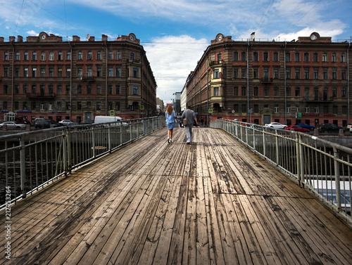 Fényképezés  Bridges of St. Petersburg.