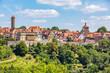 canvas print picture - Rothenburg ob der Tauber