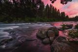 Deschutes River at Sunset
