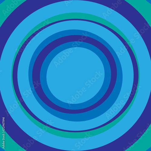 Obraz na plátně kruhy soustředné