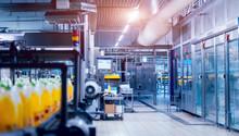 Beverage Factory Interior. Con...