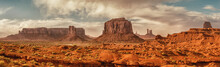 Landscape Of Monument Valley. ...