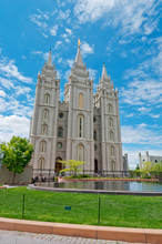 Salt Lake Temple In Salt Lake ...