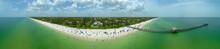 Aerial Panorama Naples Florida...
