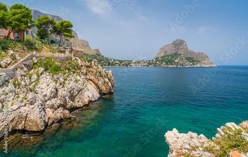 Deurstickers Palermo Scenic view in Sant Elia, near Santa Flavia, province of Palermo. Sicily.