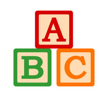 ABC / ABCs Toy Blocks Or Cubes...
