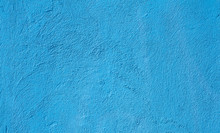 Abstract Grunge Light Blue Cyan Painted Background