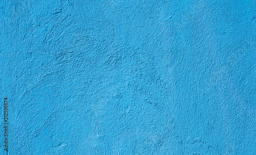 Abstract Grunge Light Blue Cyan Painted background Wallpaper Mural