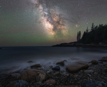 Milky Way Galaxy Over Little H...