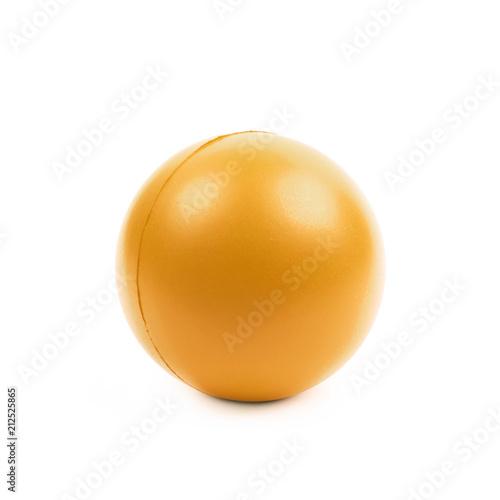 In de dag Bol Stress ball isolated