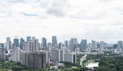 Tuinposter Stad gebouw 都市