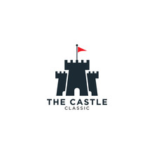 Castle Logo Design Template