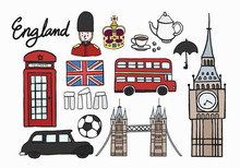 Collection Of England Symbol I...