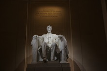Lincoln Memorial In The National Mall, Washington DC.