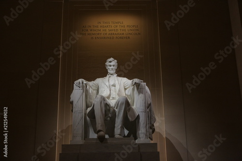 Valokuva Lincoln Memorial in the National Mall, Washington DC.