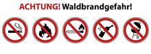 Waldbrandgefahr - Warnhinweis ...