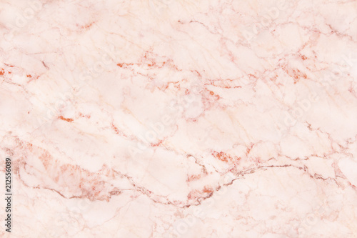 rose gold marble wall texture for background and design art work, seamless pattern of tile stone with bright luxury.