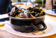 The Best Mussels In Brussels.