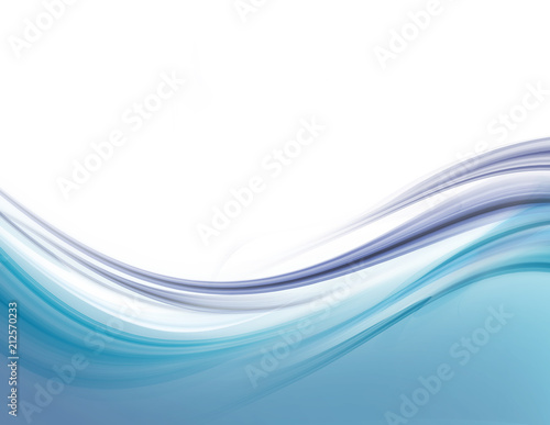 Keuken foto achterwand Fractal waves Modern futuristic background with abstract waves