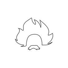 Einstein Icon, Professor, Scientist Logo