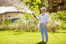 Gardening And People Concept -...