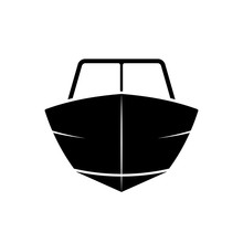Motor Boat Front View Icon