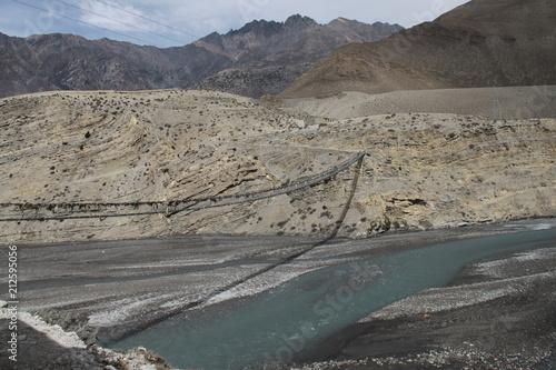 Deurstickers Grijs Himalayas