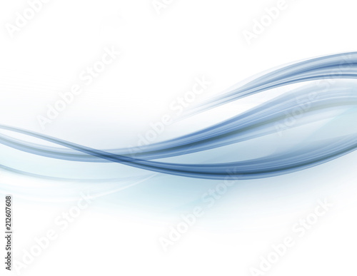 Modern futuristic background with abstract waves - 212607608