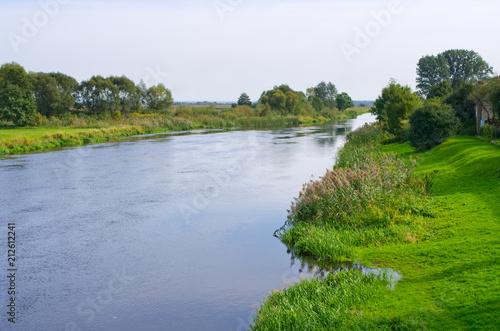 Foto op Plexiglas Rivier Narew river - Poland