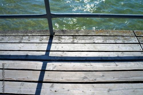 Spoed Foto op Canvas Poort Steg