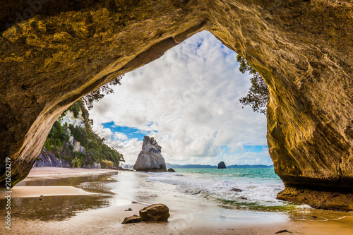 Aluminium Prints Cathedral Cove The Cathedral Cave