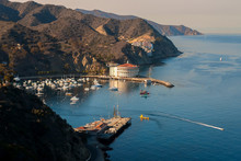 Avalon Harbor, Catalina Island...