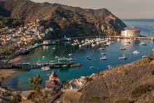 Avalon Harbor, Catalina Island...