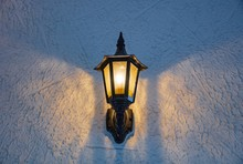 Classic Wall Lamp Mounted On W...