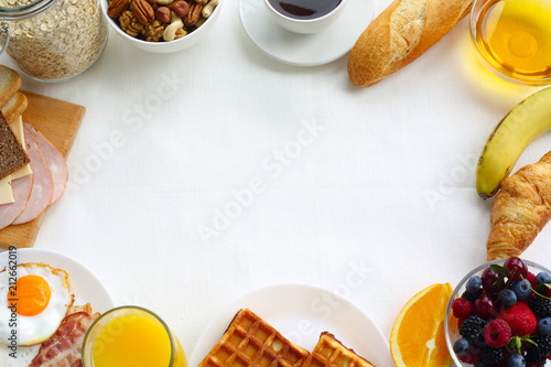 Fotografie, Obraz  Healthy breakfast background