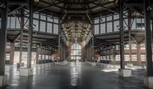 Empty Warehouse Interior In Eastern Market Detroit, Michigan