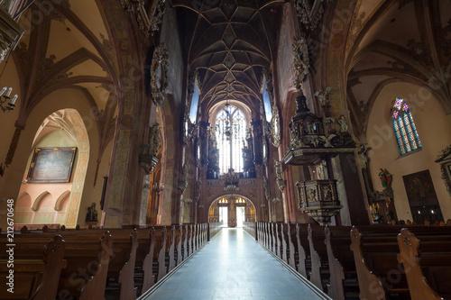 Fényképezés Bogate Wnętrze Katedry w Świdnicy