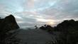Timelapse of ocean sunset