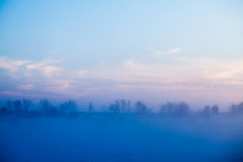 Countryside Winter Landscape A...