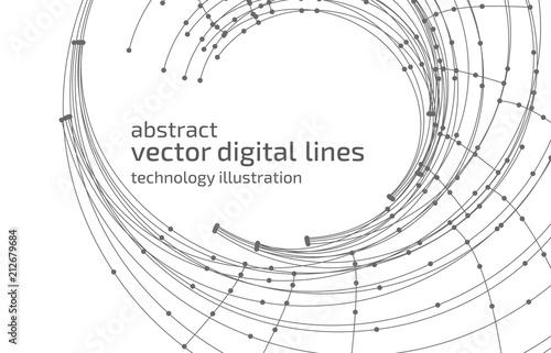 Obraz Abstract vector background - fototapety do salonu